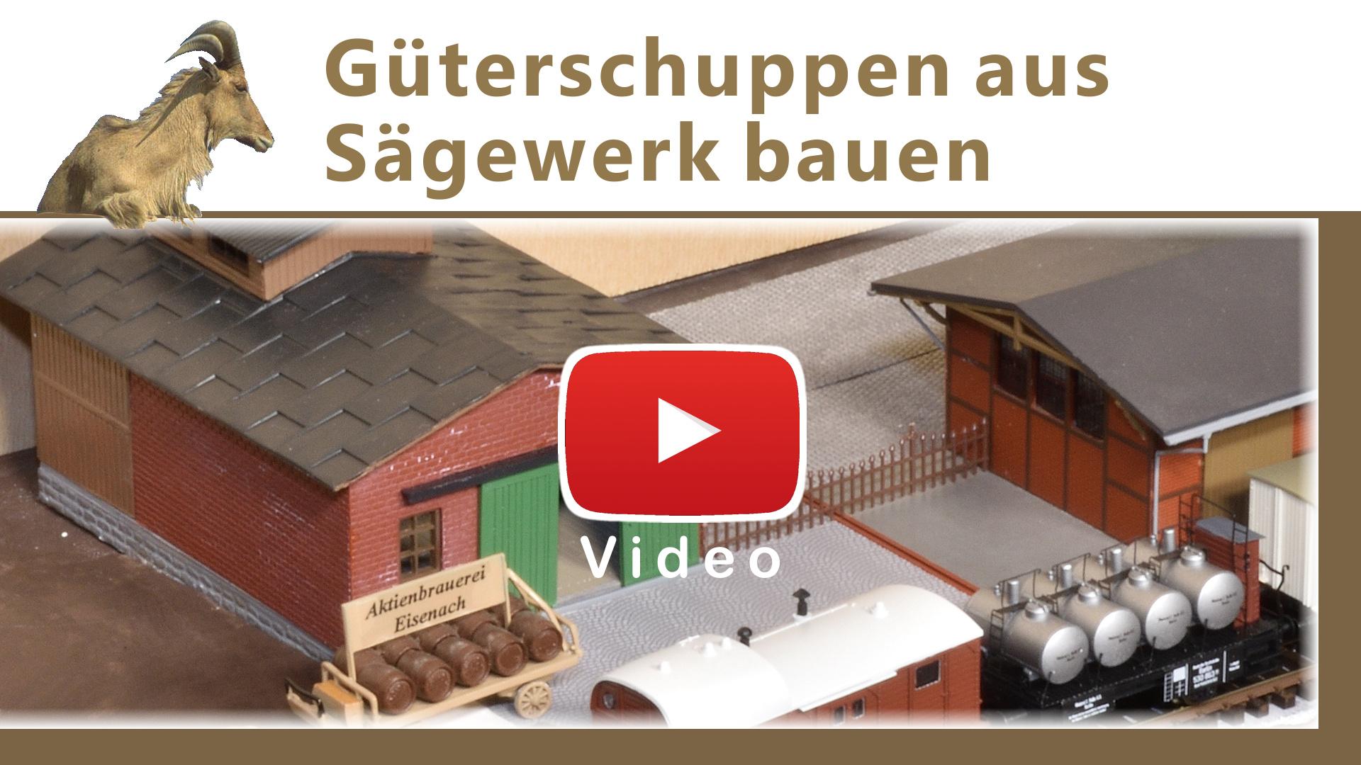 Video: Güterschuppen aus einerm Sägewerk bauen